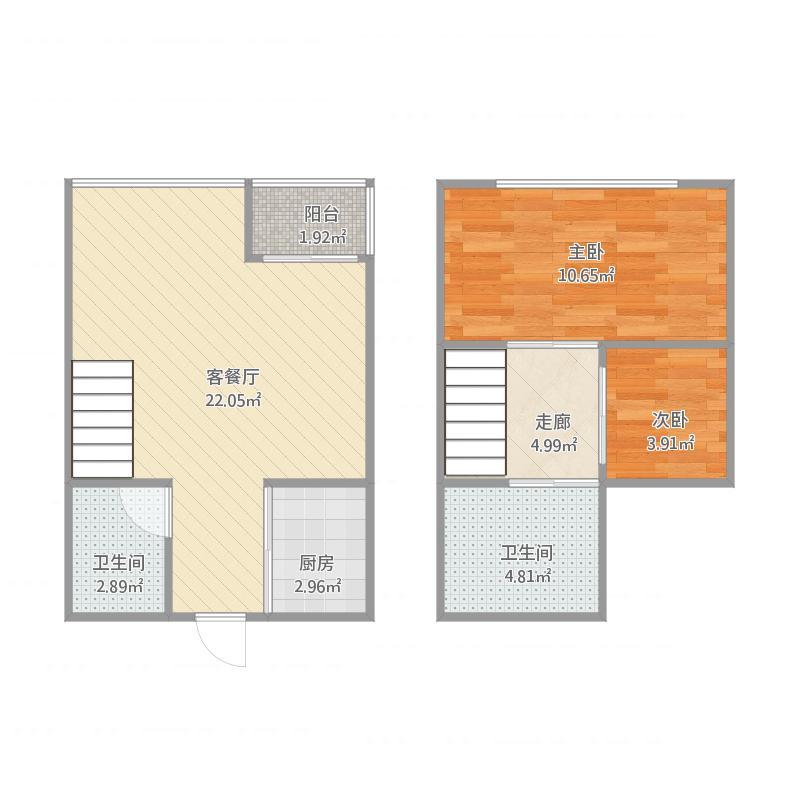 金华_现代公寓40平935