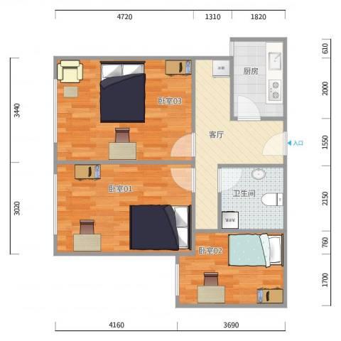 万方家园E区2-1-702
