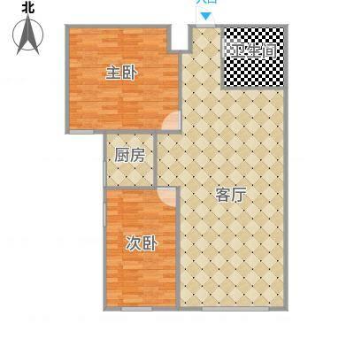 107.37㎡两室两厅