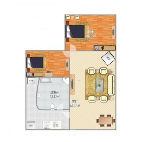 宏声巷14号10-12室1厅1卫1厨209.09㎡户型图