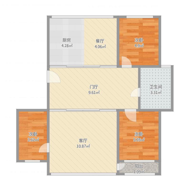 大连_铜锣湾民院北10号楼3单元6楼1_2016-01-12-1542