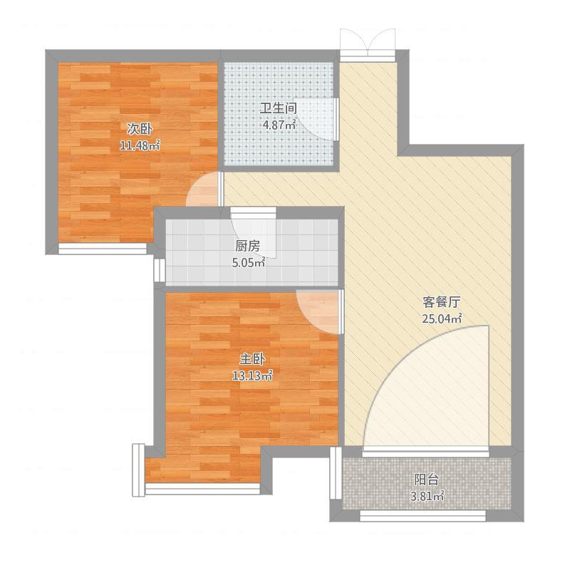 府东美奥花苑96.58