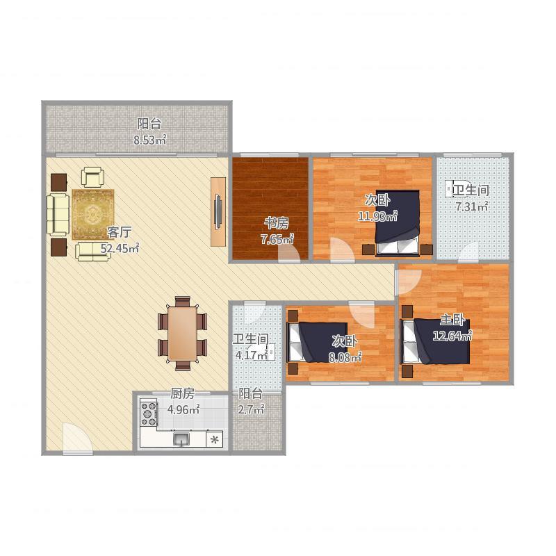 中山_汇星豪庭20栋1002房