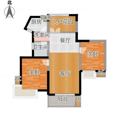 湘江世纪城瑞江苑98.00㎡面积9800m户型-副本