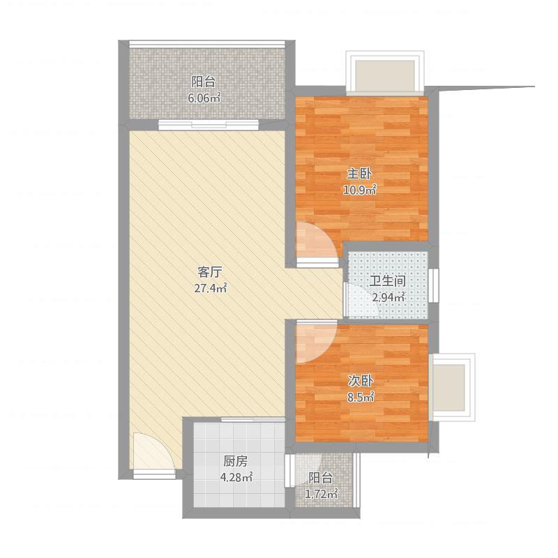 阳光4号楼2室