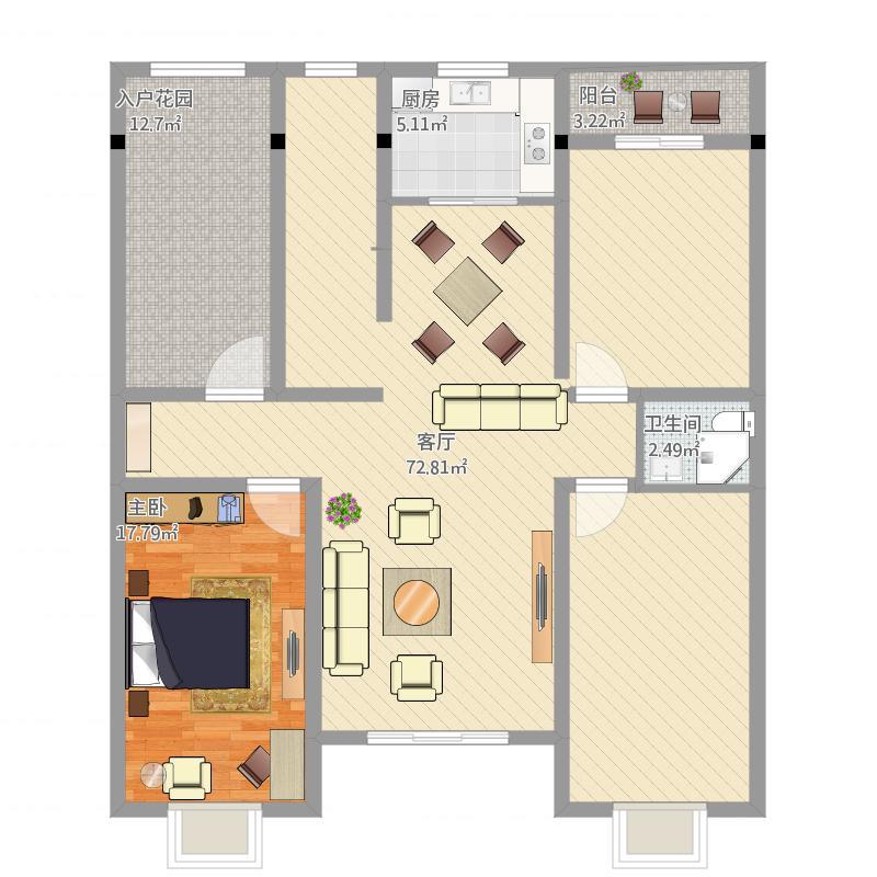 三层半别墅