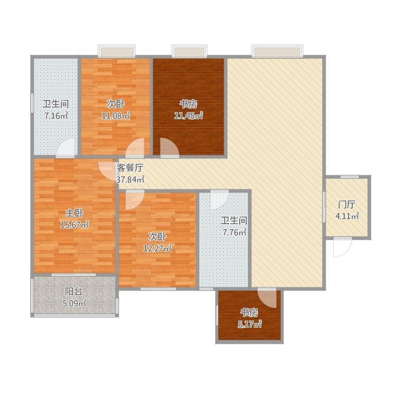 140四室两厅