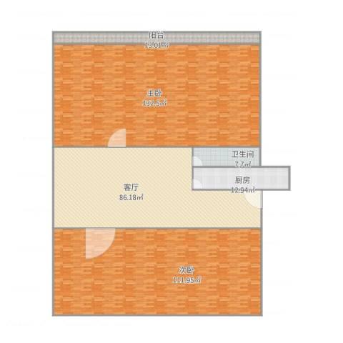 体育场路43号2室1厅1卫1厨471.00㎡户型图