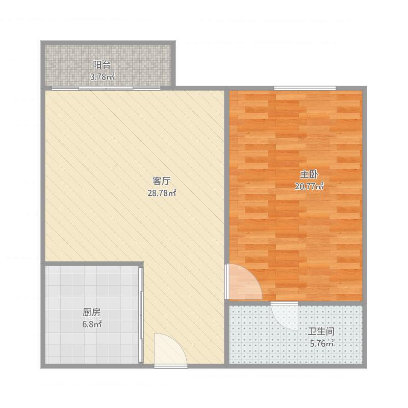 佛山_普君公寓1座1303_2016-01-22-1216