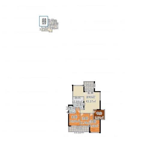 郦景阳光二期7室2厅3卫2厨202.00㎡户型图