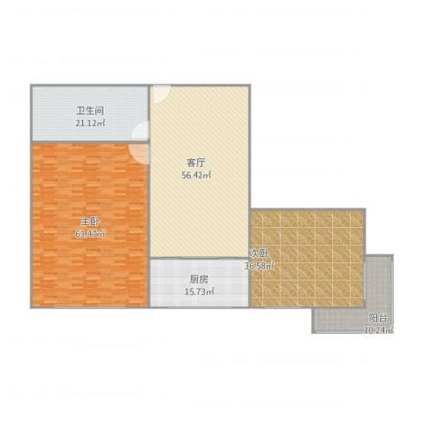 英华街2室1厅1卫1厨265.00㎡户型图