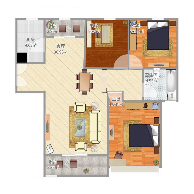 三室两厅DIY