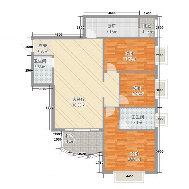 北京市丰台区慧时欣园三室两厅