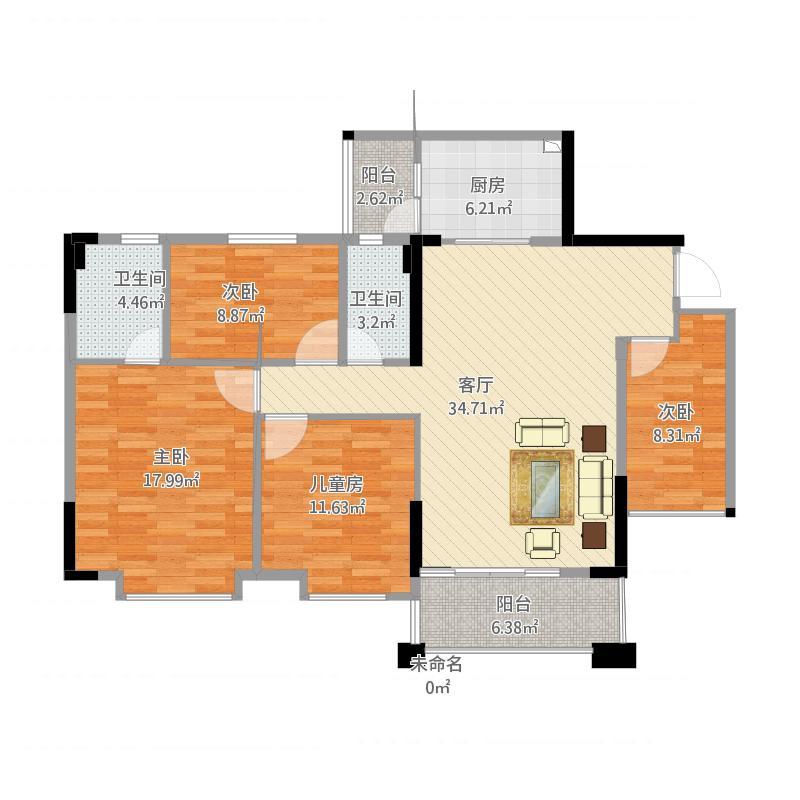 4D203家庭装修设计20160