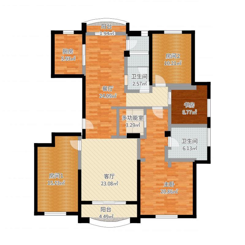 122方现代两室一厅