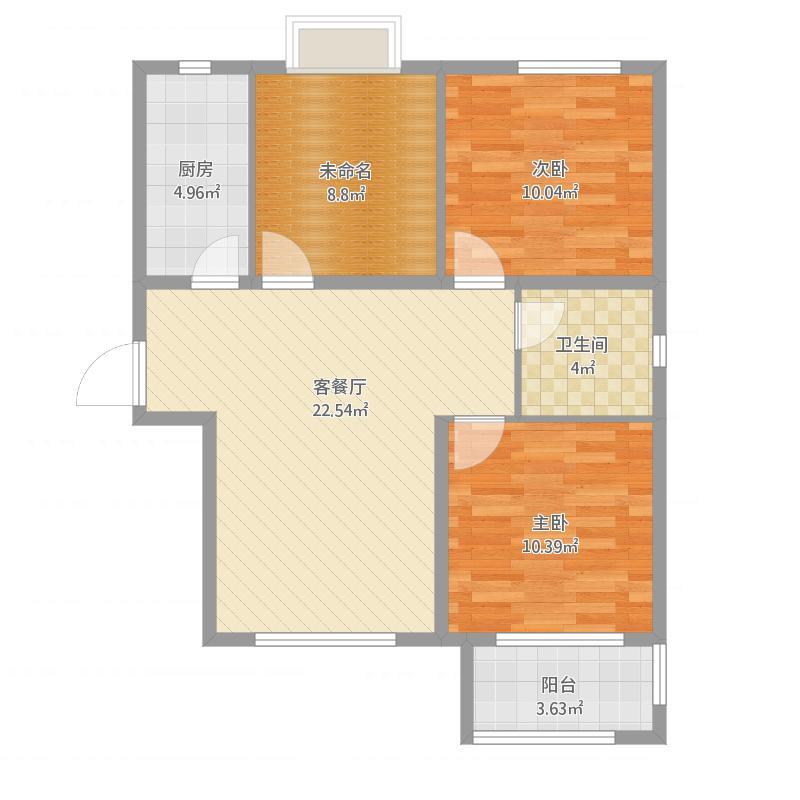 荣盛・花语城的户型图