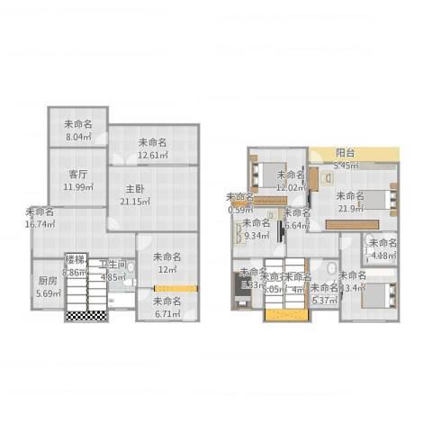 同济路1111弄1室1厅1卫1厨265.00㎡户型图