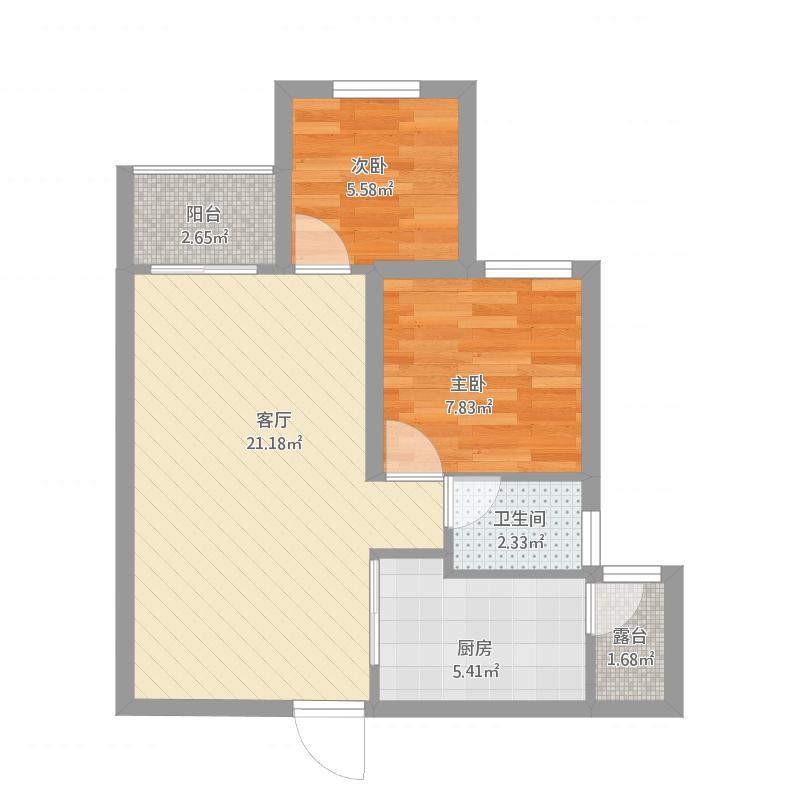 阳光御园4号楼两室2