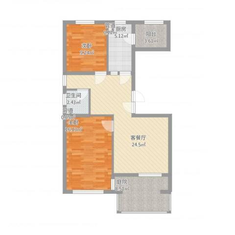 高教新城・学区嘉园3室1厅2卫2厨100.00㎡户型图