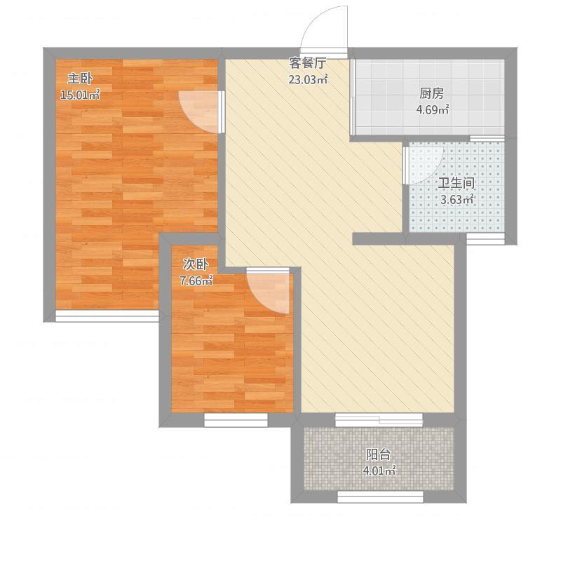 海德两室两厅