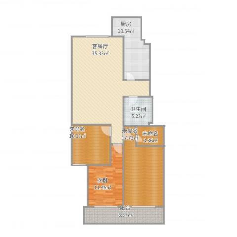 金源山居21室1厅1卫1厨137.00㎡户型图