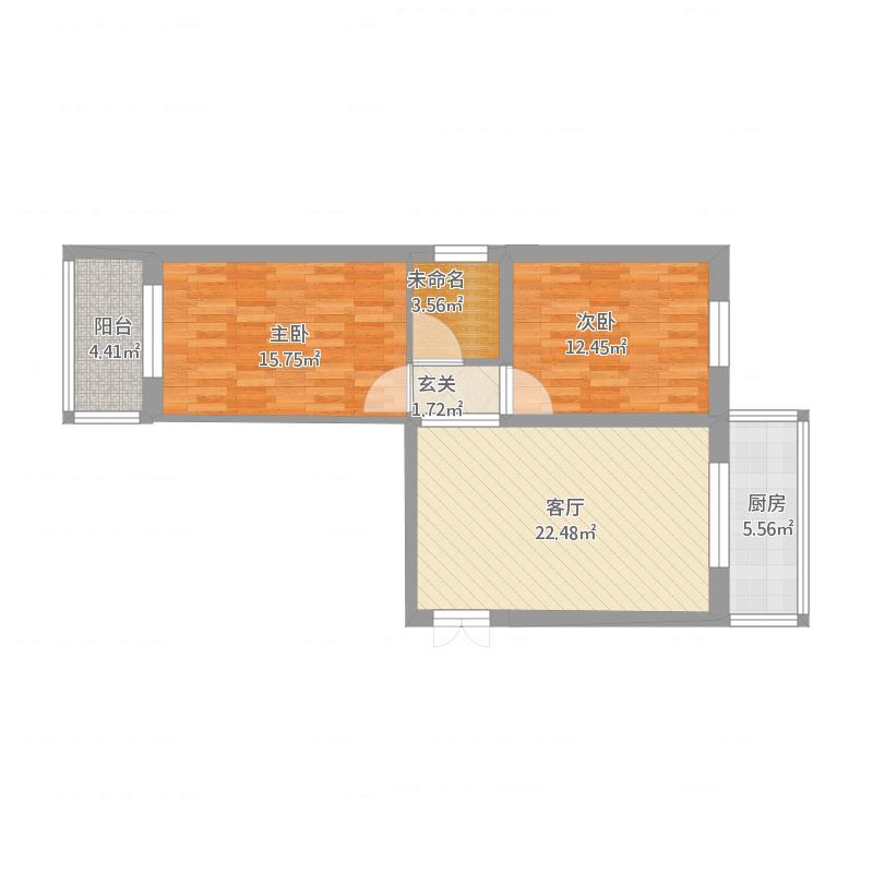 80方西户两室两厅