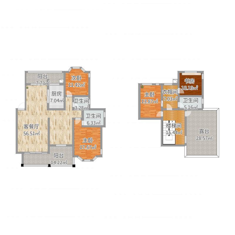 资兴新区御景名城7栋复式楼一楼、二楼