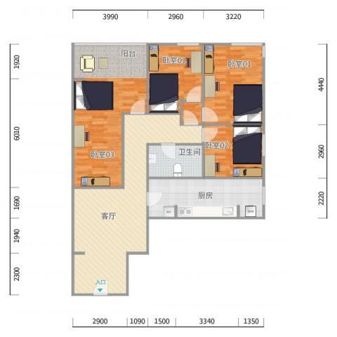 未来花园1号楼405单元