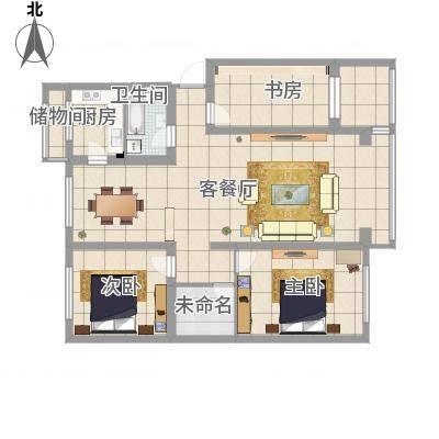 A区三室两厅