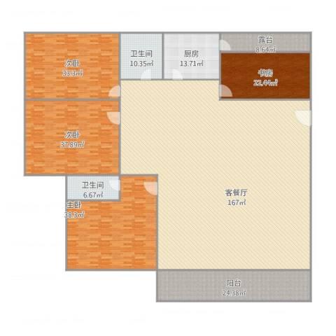 兴业新村4室2厅2卫1厨471.00㎡户型图