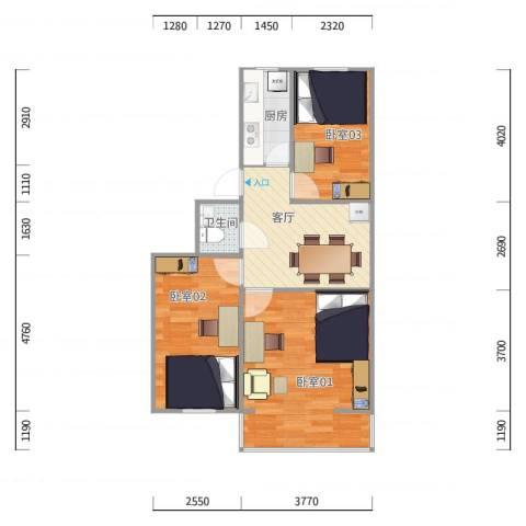 动物园宿舍2号楼4单元5层9
