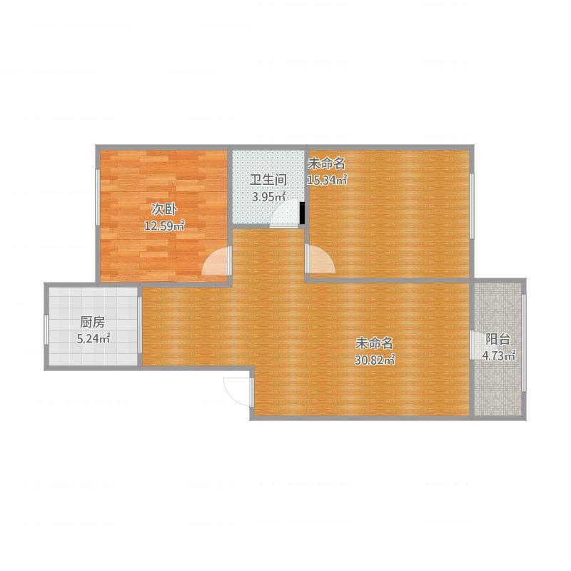 契丹公馆B区4-2-301两室