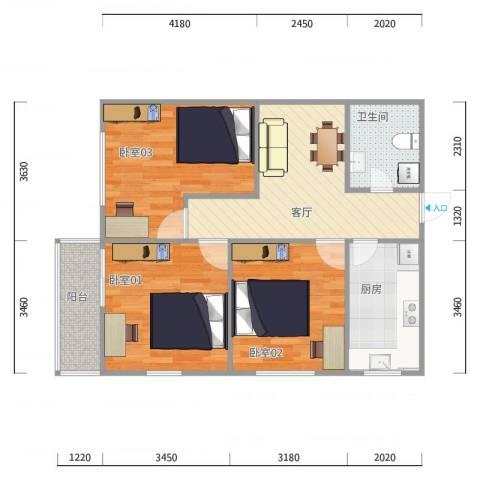 1大众汽车公寓1405