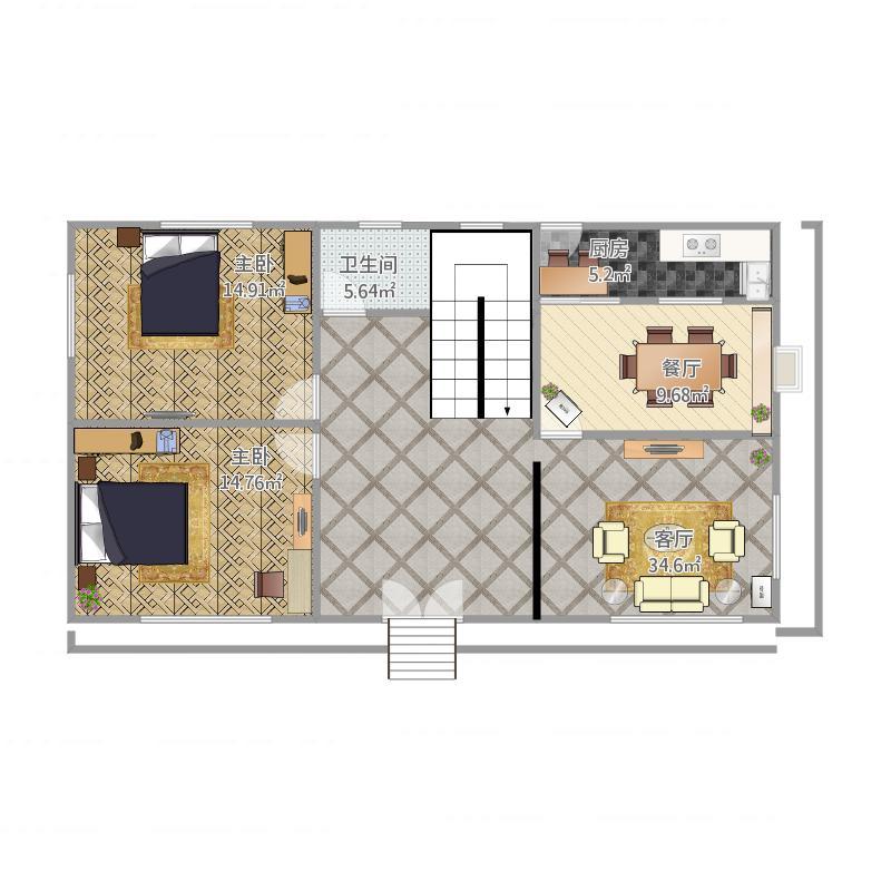 宁波_农村房屋设计图一楼