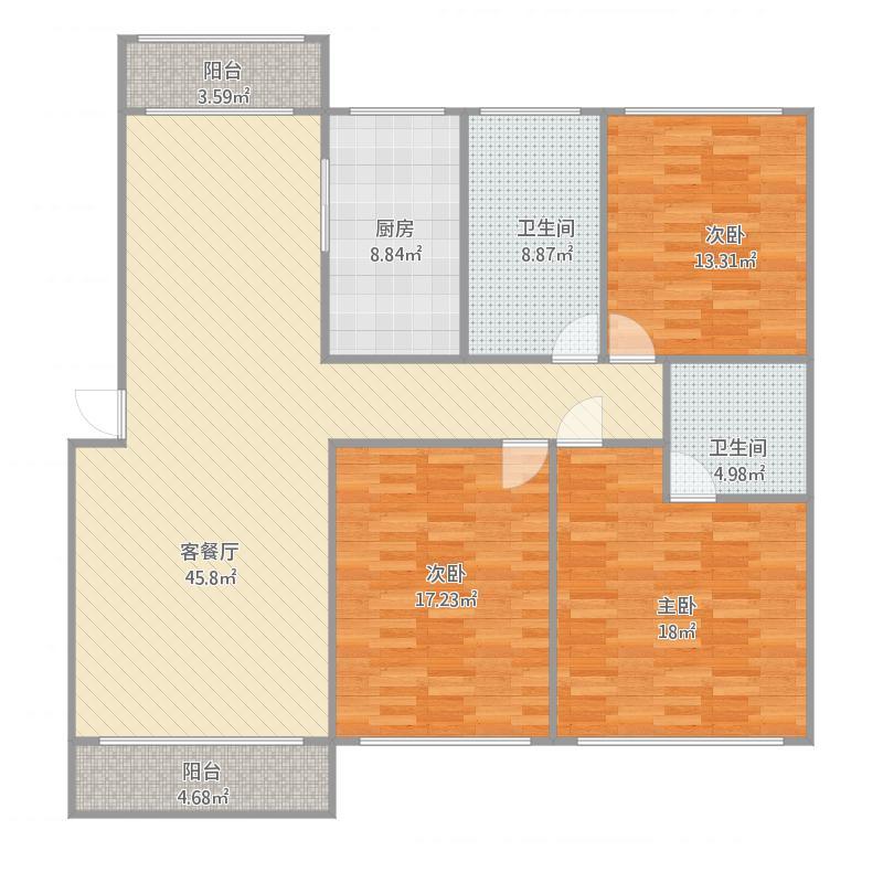 濮阳_双河佳苑1楼东户_2016-03-01-1756