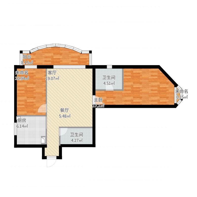 B804两室一厅