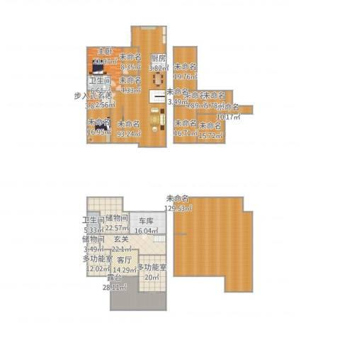远洋假日养生庄园1室1厅2卫1厨675.00㎡户型图