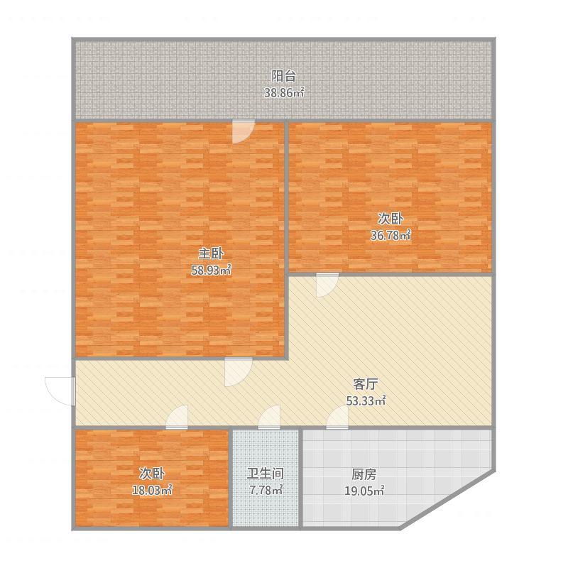铁路玉函宿舍二区6号楼3-203
