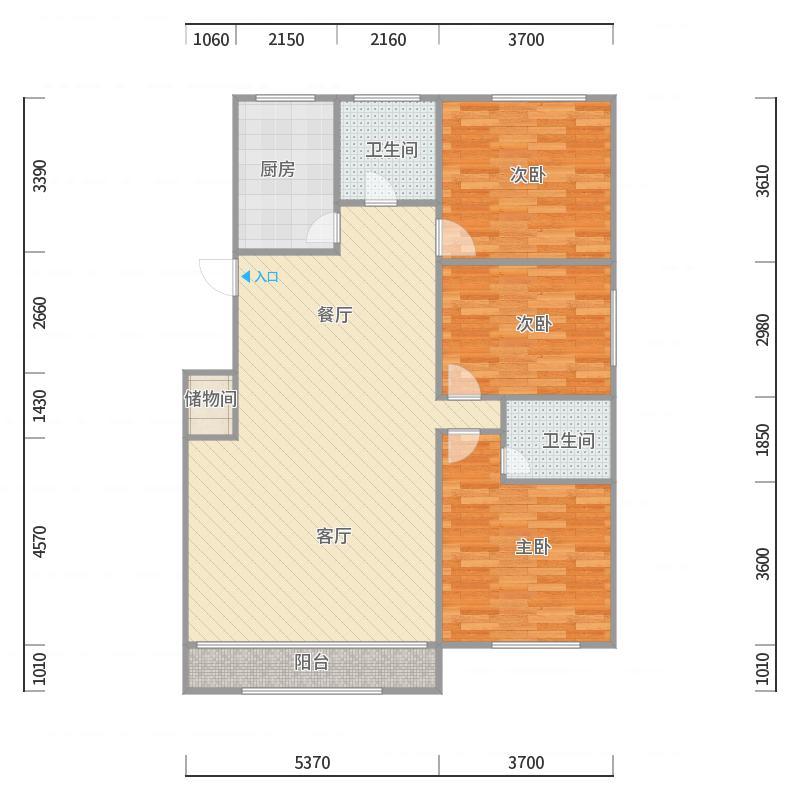 明珠东苑7号802室135平
