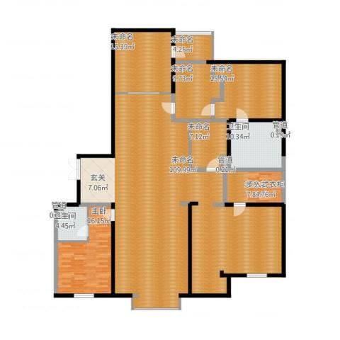 银河丽湾二期丽湾上品5室1厅6卫1厨279.00㎡户型图