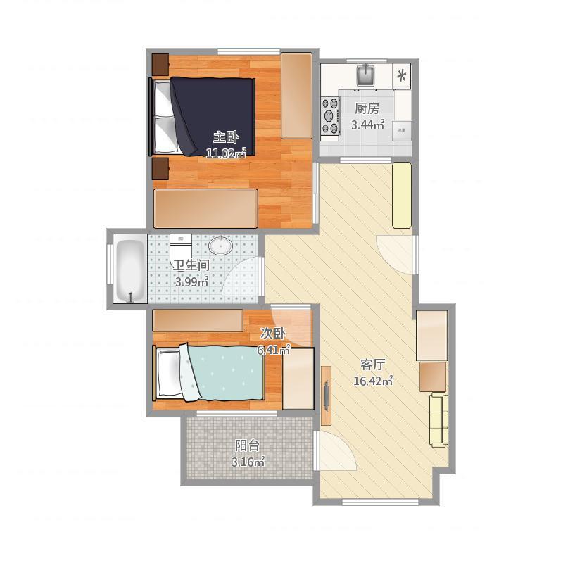 锦苑公寓2栋