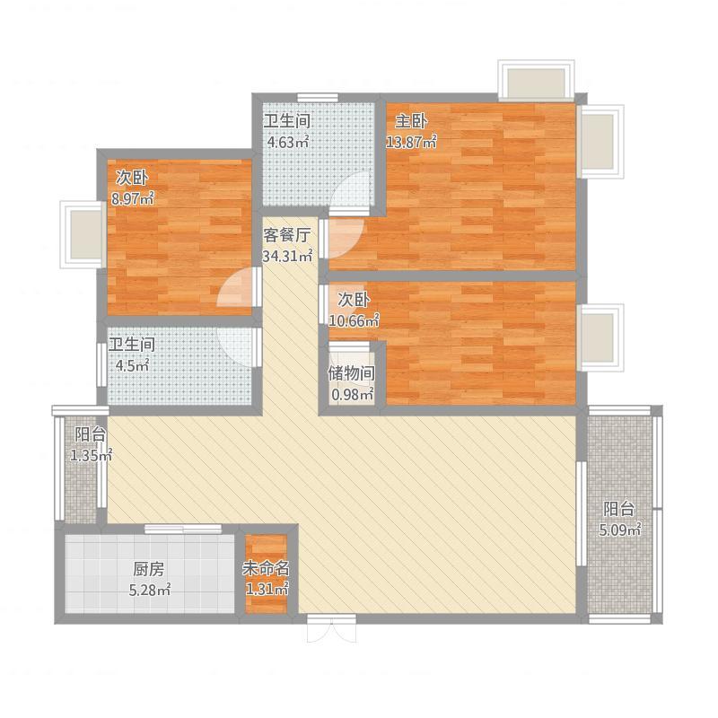 崖里坪1号1-102室