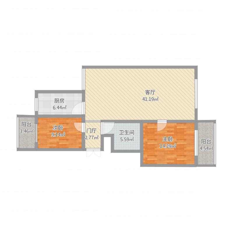130方三室两厅