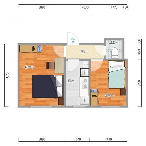 大柳树甲17号院4号楼1单元2层202