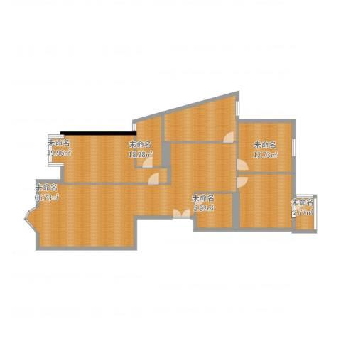 上京新航线2室1厅2卫1厨176.00㎡户型图