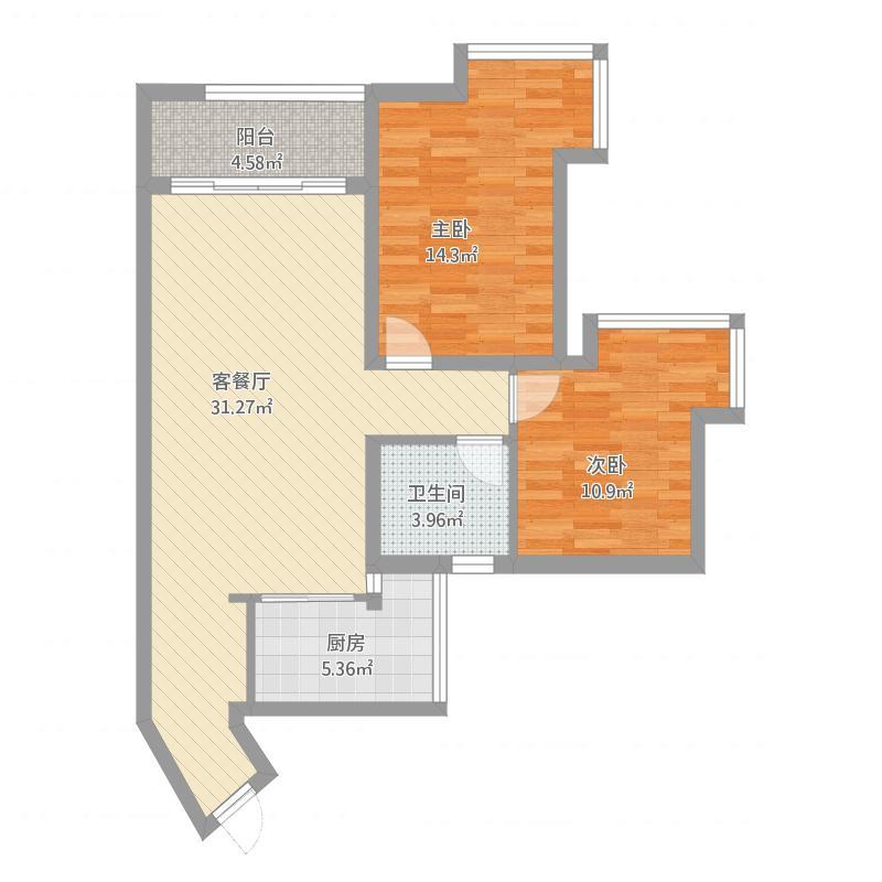 坪洲新村两室两厅
