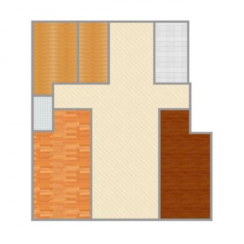 炬山花苑2室1厅1卫1厨151.00㎡户型图