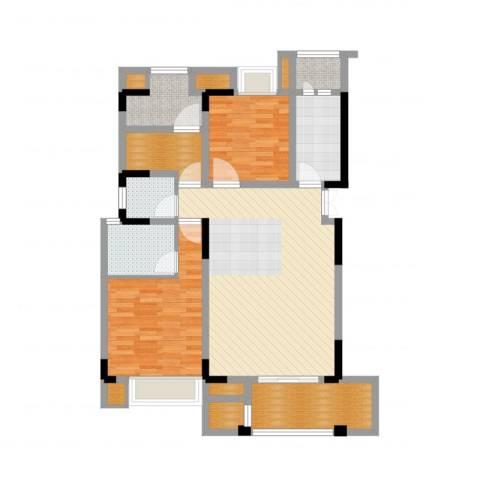 天盈首原3室2厅5卫4厨109.00㎡户型图