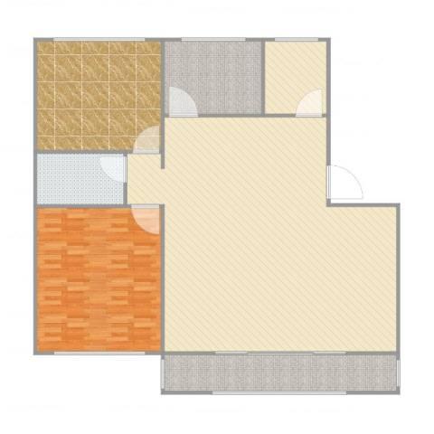 中华名城3室1厅1卫1厨178.00㎡户型图