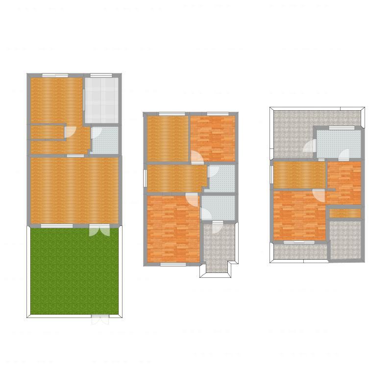 锦溪样板房二期联排南入户施工图